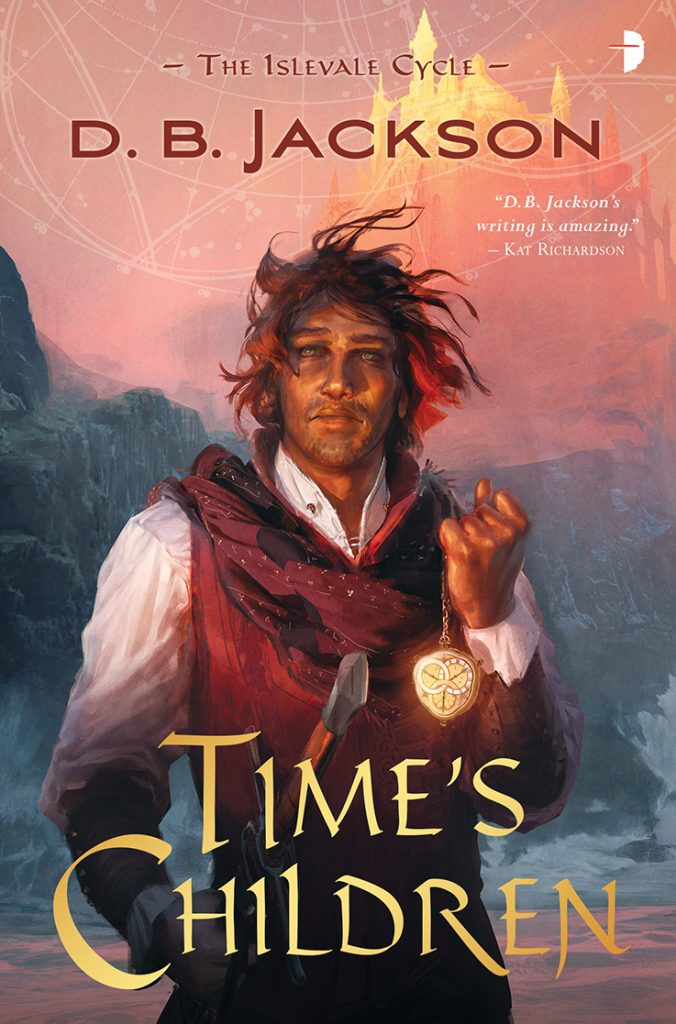 Times Children, by D.B. Jackson (Jacket art by Jan Wessbecher)