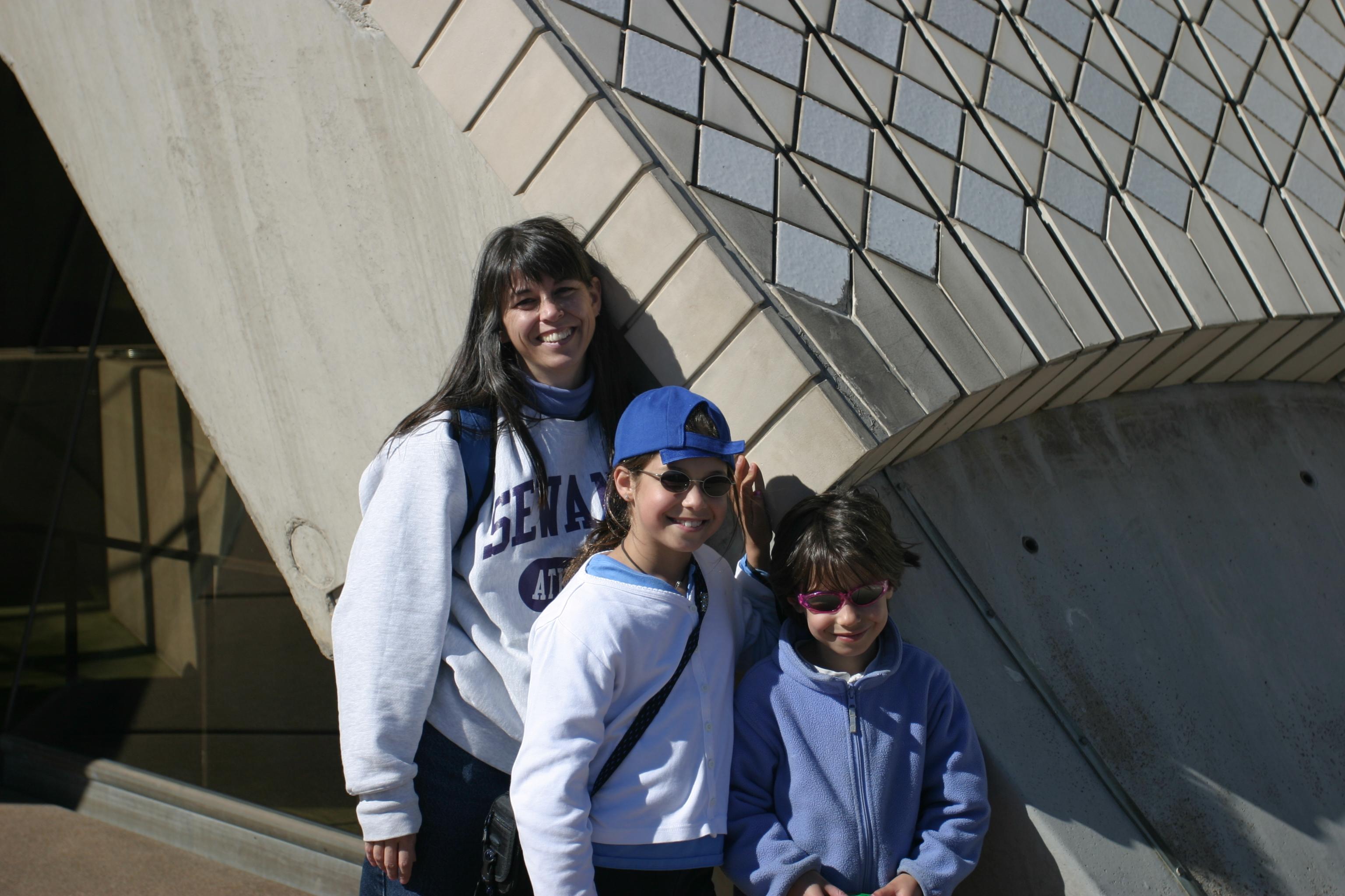 Family at the Sydney Opera House