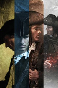 Thieftaker Chronicles collage