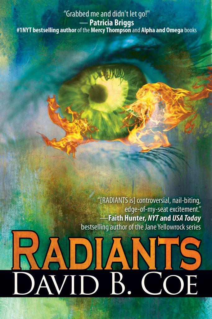 RADIANTS, by David B. Coe (Jacket art by Belle Books)